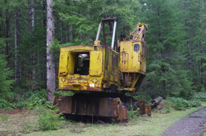 Washington TL6 yarder/loader
