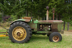 Deere 5010 after 49 years