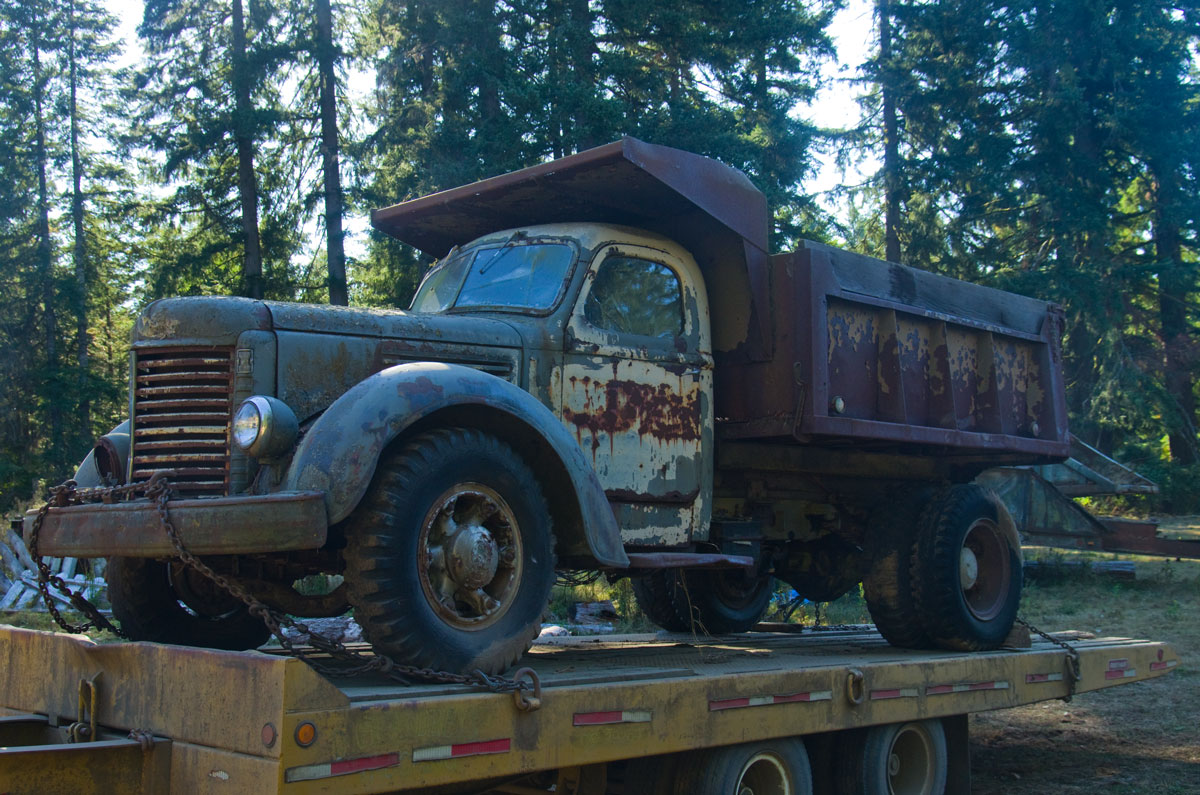 1955 GMC 370 Series Dump Truck & Tractor/Trailer Images ...