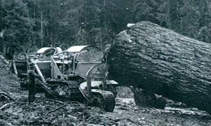 California Barrel logging with Fred Slanger and Denny Olsted