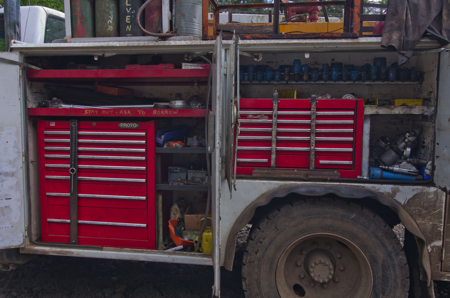 Service Truck Tool Box >> Tool Drawers For Service Trucks Chest Of Drawers