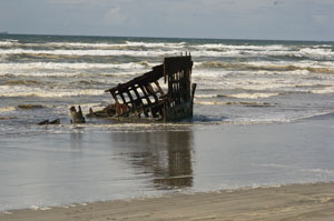 wreck of Peter Iredale