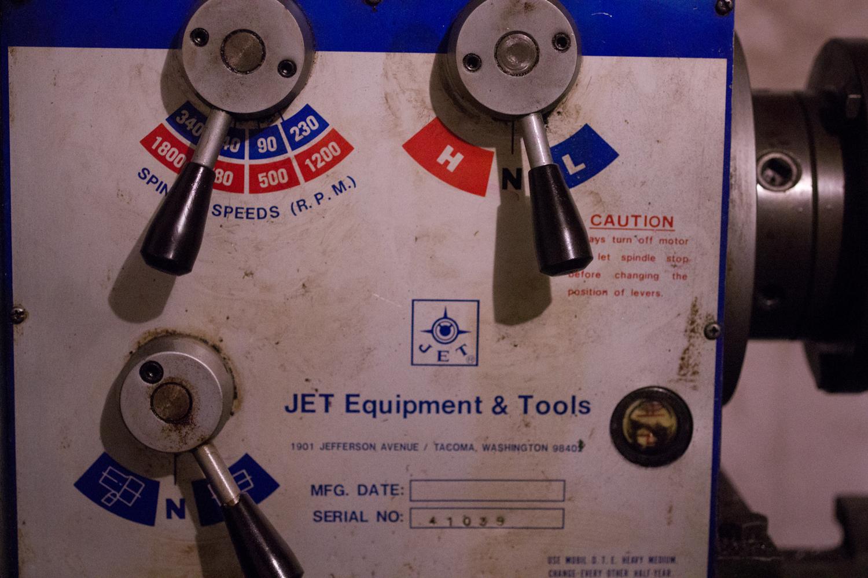 Jet 1340 Engine Lathe