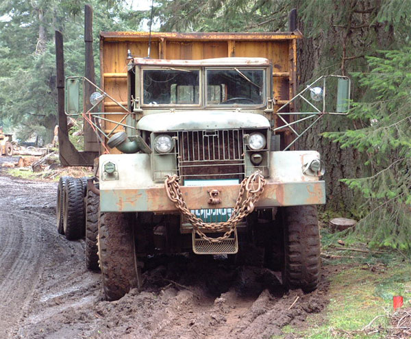 VanNatta Big Trucks - The big 6x6 Mack M123A1C