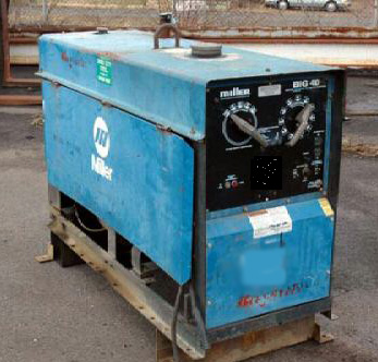 miller electric big 40 engine drive welder rh vannattabros com  canox welder parts