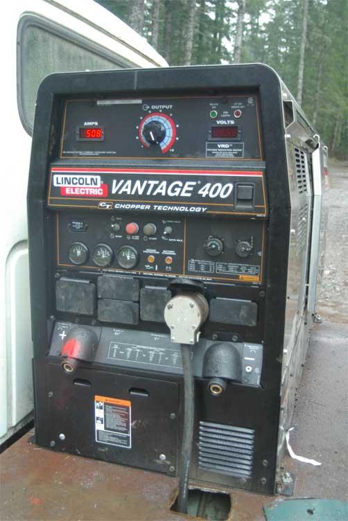 Lincoln Vantage 400 Diesel Engine Driven Welders Miller