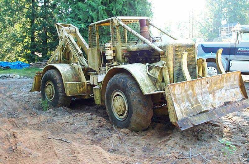 VanNatta Forestry and Logging: Log Skidder Development