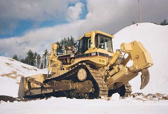 Bulldozer: Cat D8R