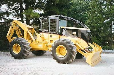 caterpillar and timberjack skidders rh vannattabros com Cat 525B Skidder Manuals 525D Cat Skidder