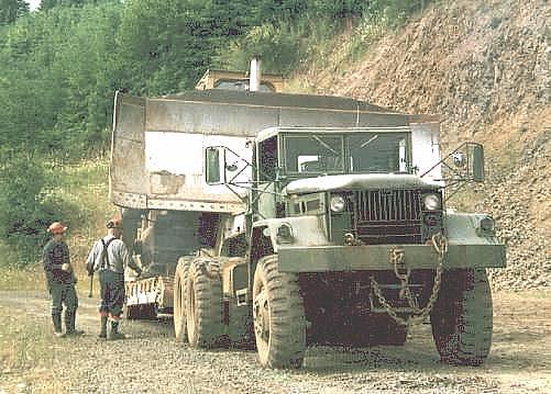 VanNatta Big Trucks - The big 6x6 Mack M123A1C