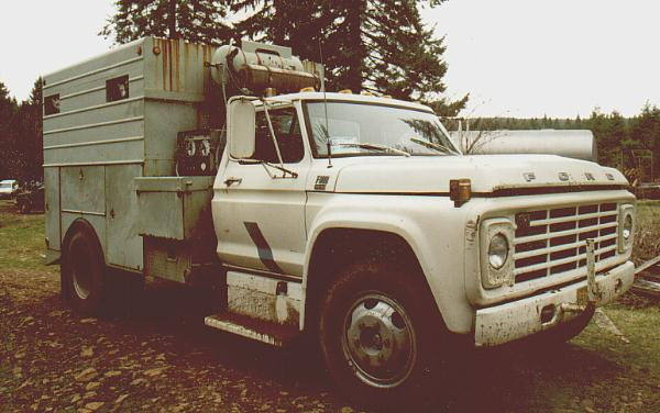 Ford F Service Truck And Miller Welder