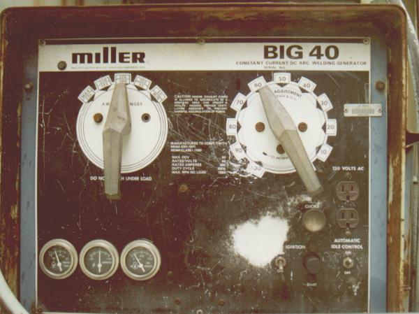 Miller Electric Big 40 Engine Drive Welder